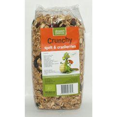 Crunchy cu spelta si merisor bio 300 g