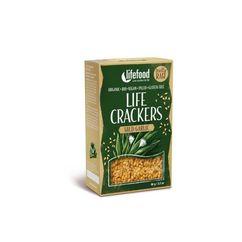 Lifecrackers cu leurda raw bio 90g