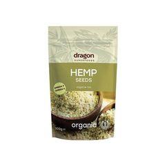 Seminte de canepa decorticate raw bio 200g DS