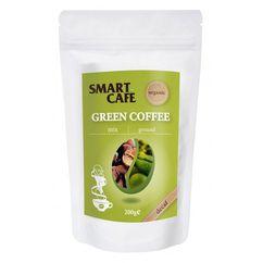 Cafea verde macinata + cafea prajita decofeinizata bio 200g DS