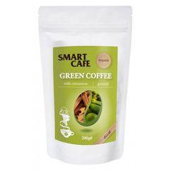 Cafea verde macinata decofeinizata cu scortisoara bio 200g DS