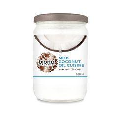 Ulei de cocos dezodorizat pt. gatit bio 610ml