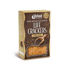 Lifecrackers cu chia raw bio 80g Lifefood