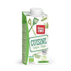 Crema de soia bio 200ml Lima PROMO