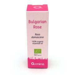 Ulei esential de trandafir (rosa damascena) pur bio 1ml ARMINA