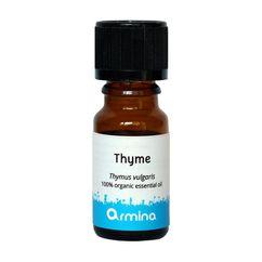 Ulei esential de cimbru (thymus vulgaris) pur bio 10ml ARMINA