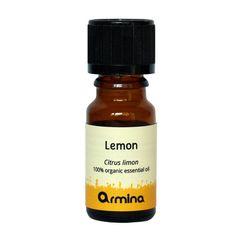 Ulei esential de lamaie (citrus limon) pur bio 10ml ARMINA