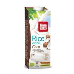 Lapte de orez cu cocos bio 1L Lima