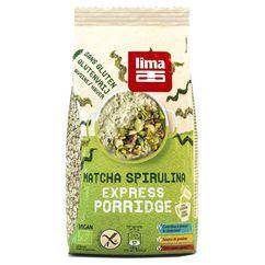 Porridge Express cu matcha si spirulina fara gluten bio 350g