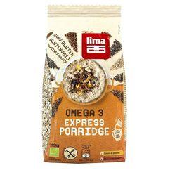 Porridge Express Omega 3 fara gluten bio 350g