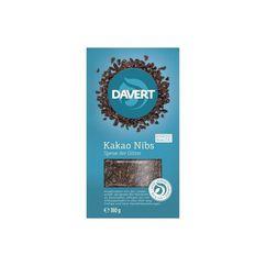 Miez din boabe de cacao bio 180g DAVERT