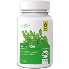 Moringa bio 400mg, 90 capsule vegane RAAB