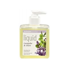 Sapun Lichid/Gel De Dus Bio Lavanda -Masline 300 ml Sodasan