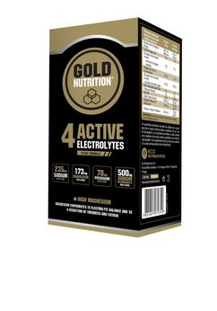 GOLDNUTRITION 4 ACTIVE ELECTROLYTES 10 PL
