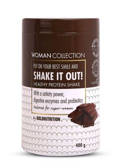 Woman Collection Shake It Out - Pudra proteica Ciocolata 400g