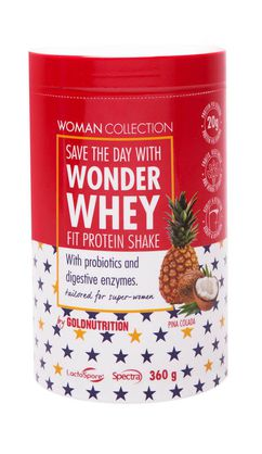 Woman Collection Wonder Whey Pina Colada 360g