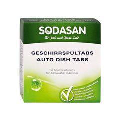 Tablete Detergent Masina Spalat Vase Bio 25 Buc Sodasan